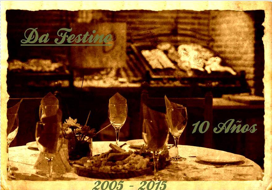 Da Festino 10 Años - Salon de fiestas